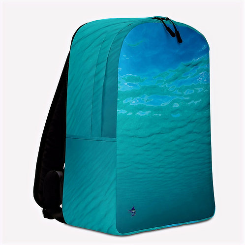 "TREKK X ® Offshore ""Salty Life"" Fishing Surfing Dive Premium Minimalist Backpack"