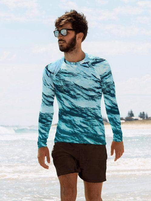 "TREKK X ® Offshore ""Kahuna"" Fishing Surfing Scuba  Camo Men's Rash Guard"