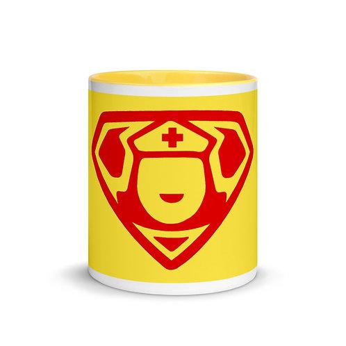 """MEDX """"Super Nurse X"""" Must Have Gift Mug with Color Inside"""