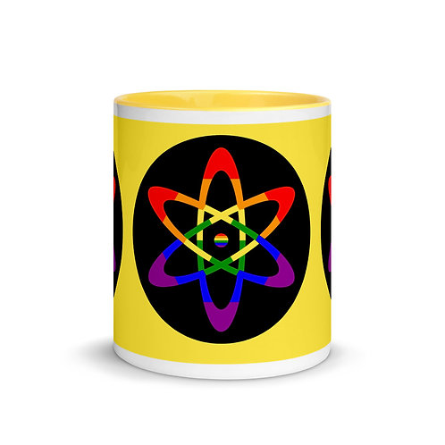 Atom X2 Must Have Gift Mug with Color Inside