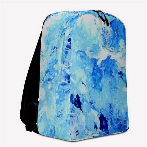 "TREKK X ® Offshore ""White Cap"" Fishing Surfing Scuba Swim Minimalist Backpack"