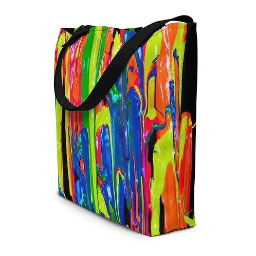 "Travel Bag ""Dripping Wet Paint"" Collection"
