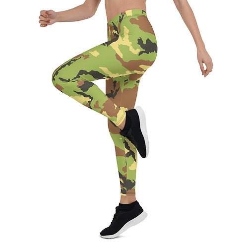 "TREKK X ""Hunter"" Green Camo Premium Leggings"