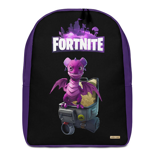 "GAMER X Fortnite ""Scales"" Pet Epic Games ® Premium Minimalist Backpack"