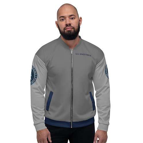 "NASA X ""U.S. Space Force"" NRO Unisex  Bomber Jacket"
