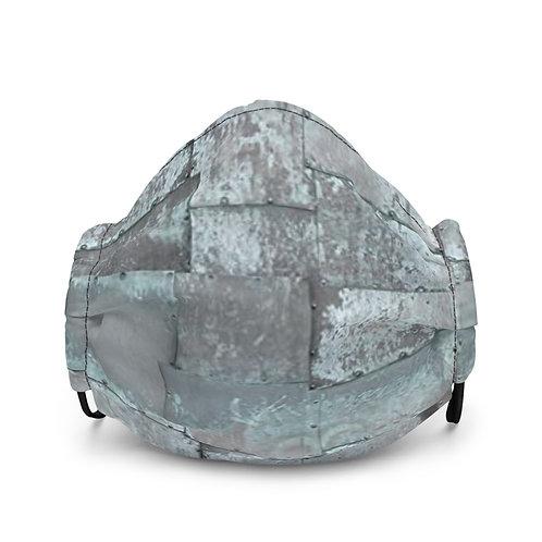 "TREKK X ""MechaniX"" Riveted Aged Steel Premium Face Mask"