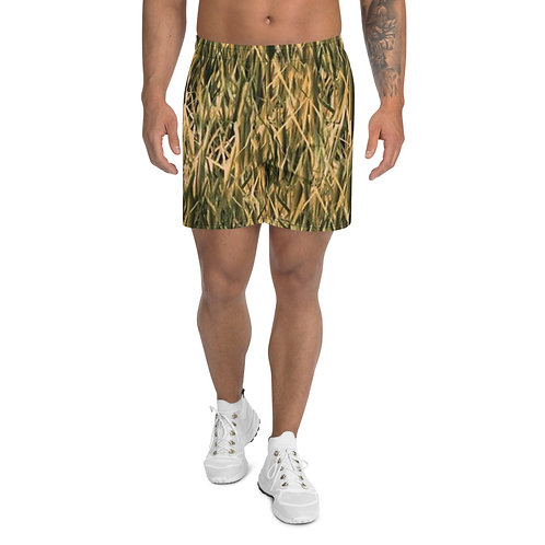 "TREKK X ® Back Water ""High Grass"" Camo Fishing Hunting Athletic Long Shorts"