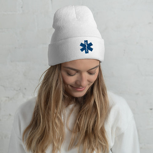 MEDX Frontliners Cuffed Beanie Hat