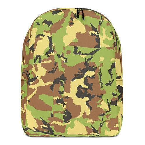 "TREKK X ""Hunter"" Green Camo Premium Minimalist Backpack"
