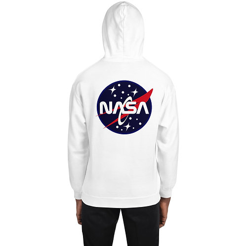 """""""NASA"""" Custom Unisex Hoodie- Back Printed"""