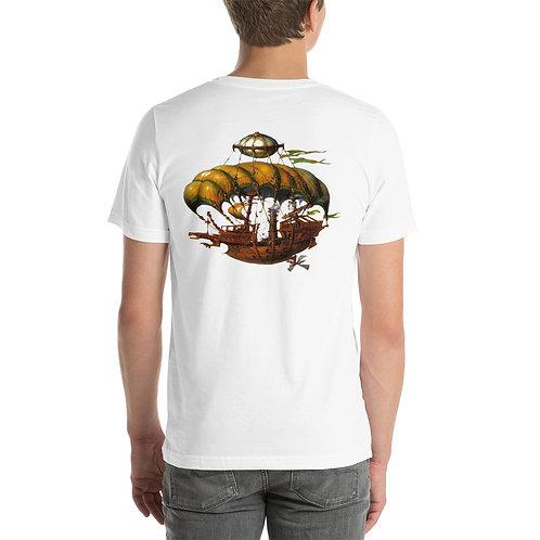 Steampunk Air Ship Pirate Short-Sleeve Unisex T-Shirt