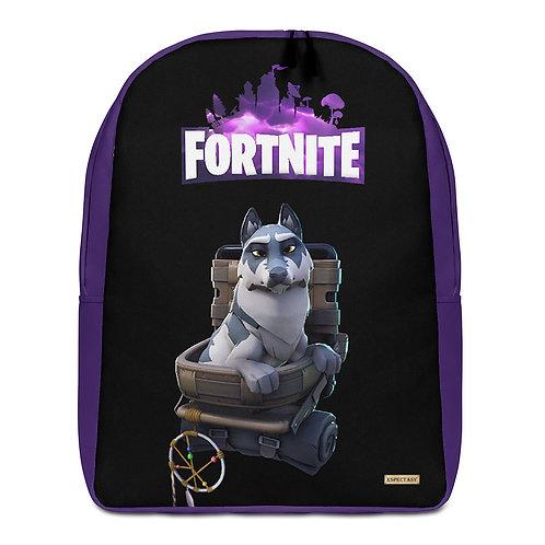 "GAMER X Fortnite  ""Remus"" Pet  Epic Games ® Premium Minimalist Backpack"