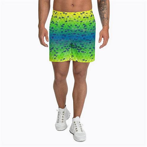 "TREKK X ® Offshore ""Mahi"" Fishing Swimming Men's Athletic Long Shorts"