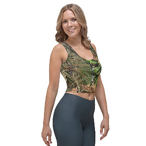 Ladies  Mossy Oak ® Obsession Camo Clothing Crop Top