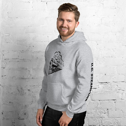 O.G. STEAMPUNK Steam Train Clothing Sweatshirt Unisex Hoodie