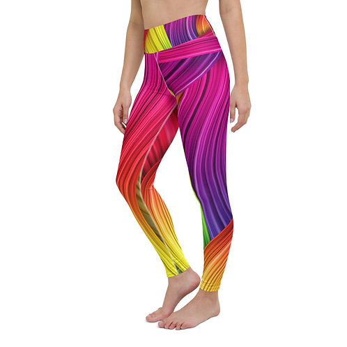 """Rainbow Bridge"" Yoga Leggings"