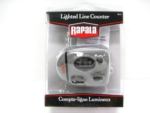 Rapala ® Lighted Line Counter Controlled Depth Bait Cast Night Fishing Tool