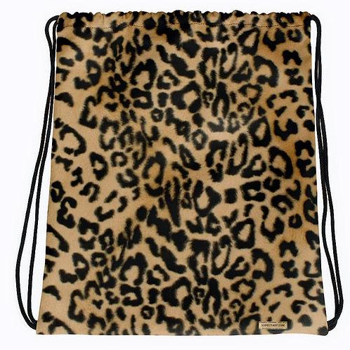 TREKK X® Panthera Leopard Camo Drawstring bag