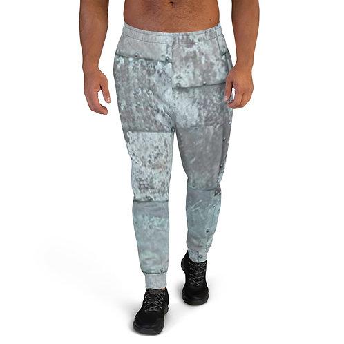 """TREKK X """"MechaniX"""" Riveted Aged Steel Men's Sweat Pants Joggers"""