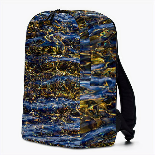 "TREKK X ® Back Water ""Fly Master"" Fishing Hunting Camo Minimalist Backpack"