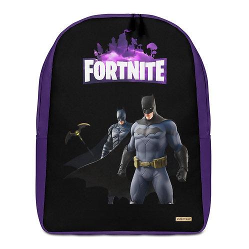 """GAMER X Fortnite X """"Batman Team"""" Characters Epic Games ® Minimalist Backpack"""