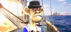 Bored Ape Yacht Club 3D #8002
