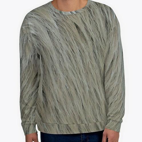"""TREKK X """"Yeti"""" Real Life ® Winter Camo Unisex Sweatshirt"""