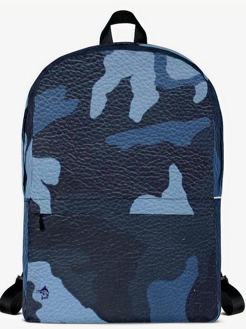 "TREKK X ® Offshore ""Navy Seal"" Fishing Surfing Scuba Leather Classic Backpack"