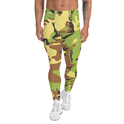 Men's Camo Leggings Top Quality Hand Made To Order