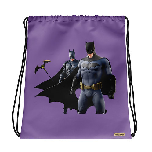 "GAMER X Fortnite ""Batman Team"" Characters Epic Games ® Shoulder Drawstring Bag"