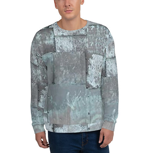 "TREKK X ""MechaniX"" Riveted Aged Steel Unisex Sweatshirt"