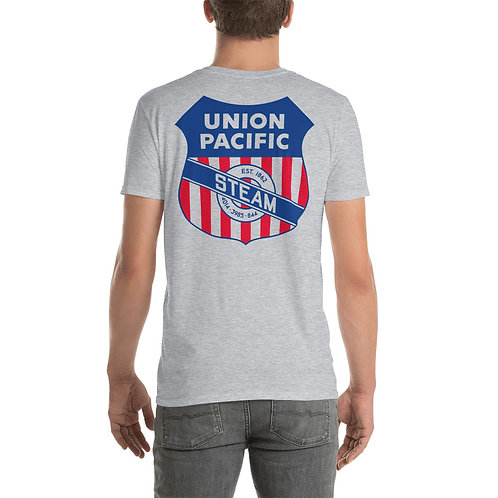 "O.G. STEAMPUNK ""Union Pacific Steam Railroad"" Short-Sleeve Unisex T-Shirt"