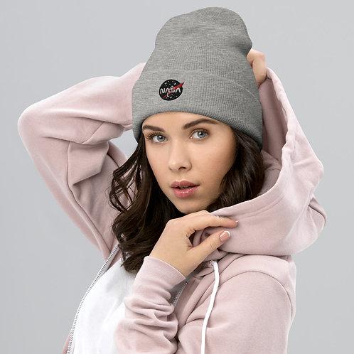 NASA X Cozy and Comfy Cuffed Beanie Hat