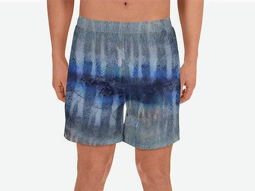 "TREKK X ® Offshore ""Wahoo"" Fishing Surfing Men's Athletic Long Shorts"