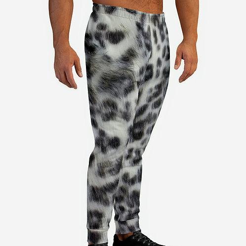 TREKK X® Panthera Winter Snow Leopard Camo Men's Sweatpants Joggers