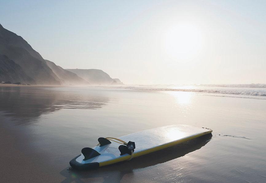 Surfen einfach traumhaft schön
