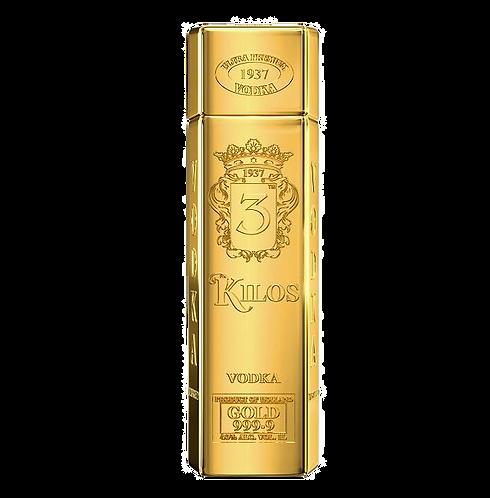 3 Kilos Gold Vodka (1,0l)