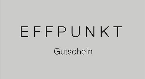 EFFPUNKT Gutschein 500,- €