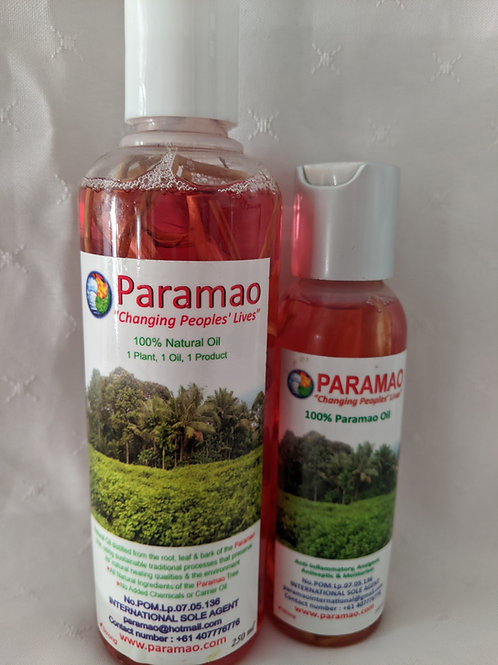 Paramao Oil - Purse Pack 250ml & 100ml Root Filled
