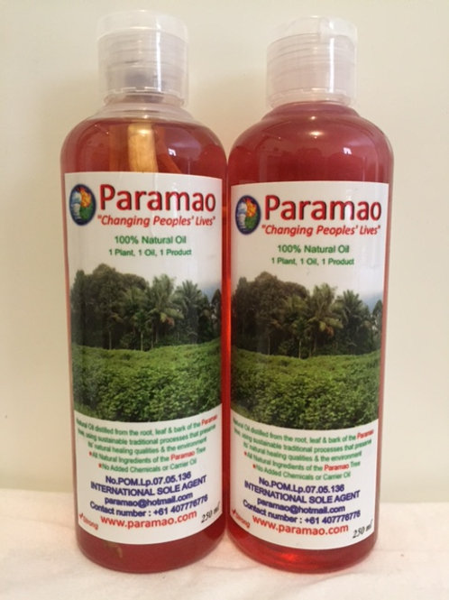 Paramao Oil - Strong - Twin Pack