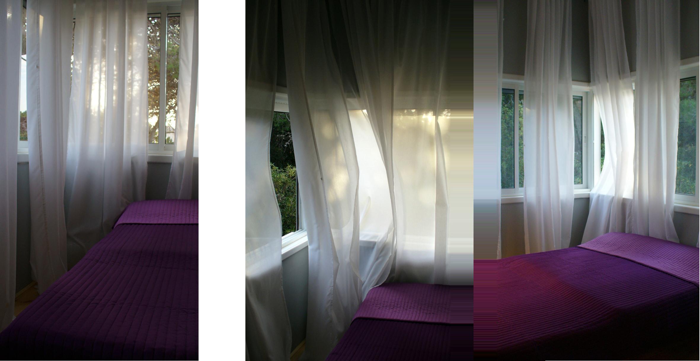 אדריכלות ועיצוב פנים חדר שינה בלופט