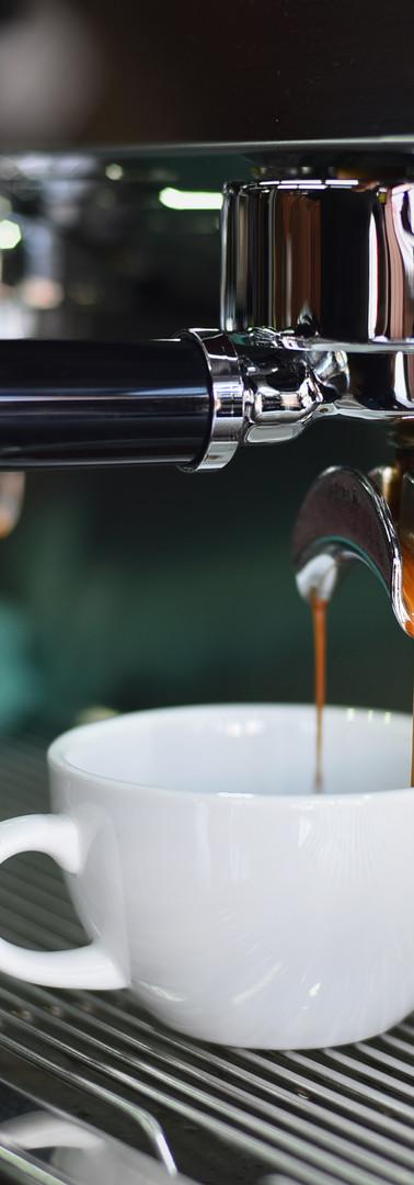 Canva - White Ceramic Mug on Espresso Ma