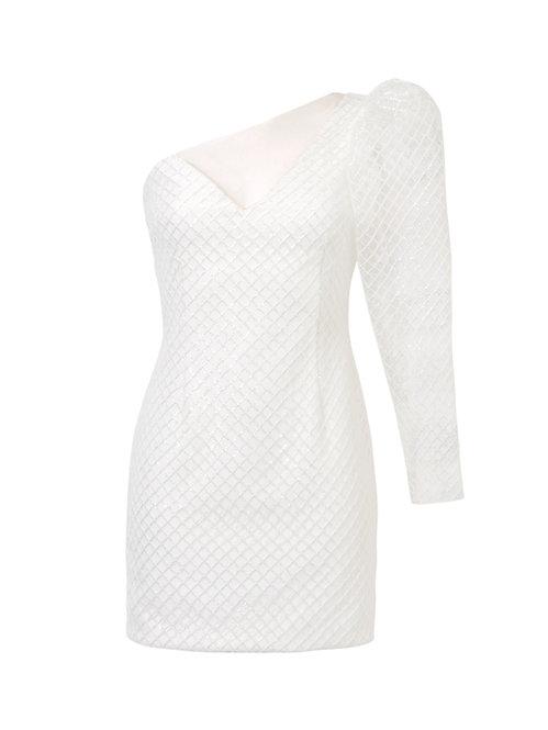 Sukienka GEMMA WHITE