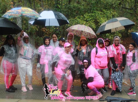 women uniting through the storm
