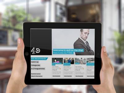 4oD on iPad & iPhone
