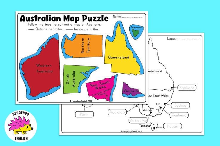 Australian Map Puzzle