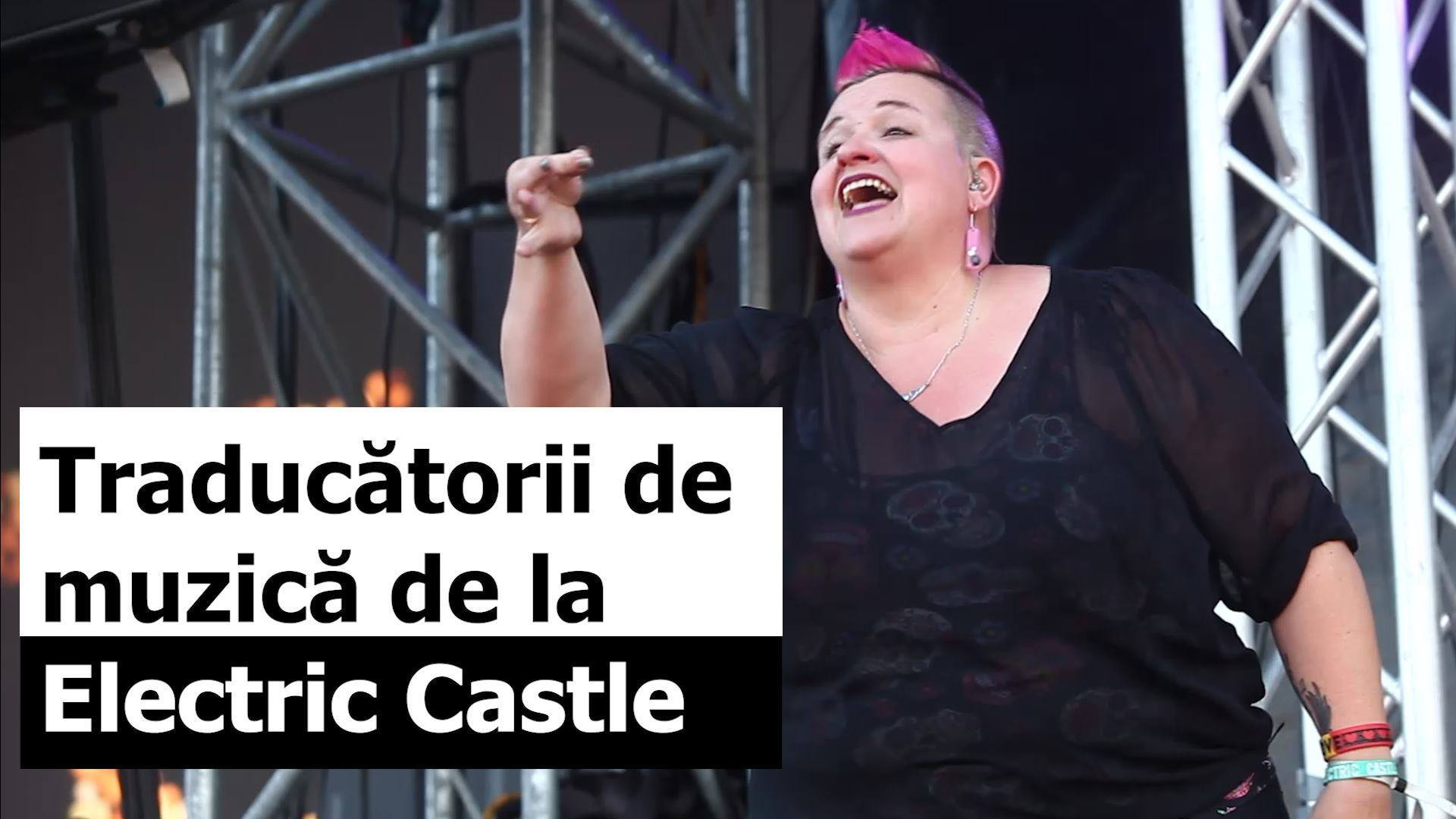 "Music ""translated"" for hearing impaired at Electric Castle"