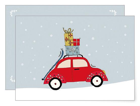 Weihnachtskäfer | Klappkarte