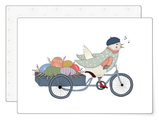 Osterhenne | Postkarte