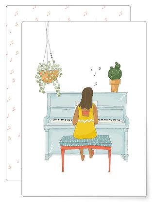 Piano | Postkarte